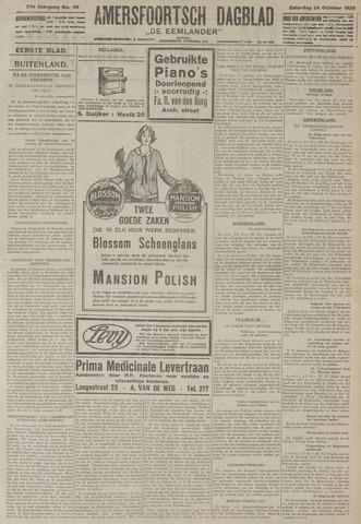 Amersfoortsch Dagblad / De Eemlander 1925-10-24