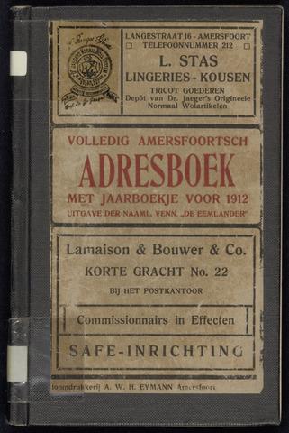 Adresboeken Amersfoort 1912