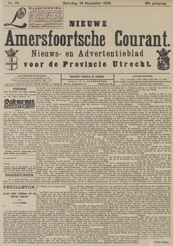Nieuwe Amersfoortsche Courant 1913-09-13