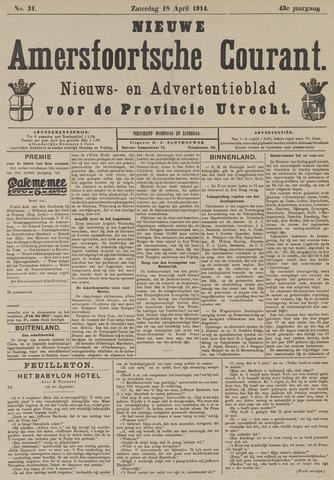 Nieuwe Amersfoortsche Courant 1914-04-18