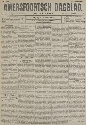Amersfoortsch Dagblad / De Eemlander 1914-01-30