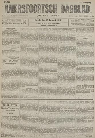 Amersfoortsch Dagblad / De Eemlander 1914-01-15