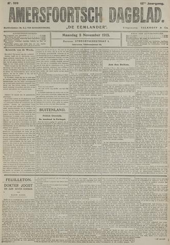 Amersfoortsch Dagblad / De Eemlander 1913-11-03