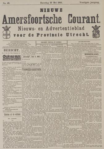 Nieuwe Amersfoortsche Courant 1911-05-27