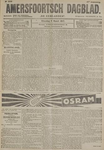 Amersfoortsch Dagblad / De Eemlander 1917-03-06