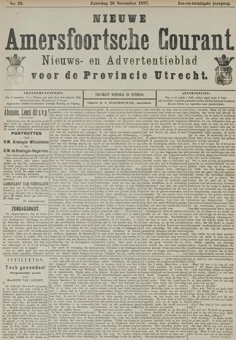 Nieuwe Amersfoortsche Courant 1897-11-20