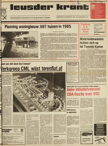 Leusder Krant 1984-08-30