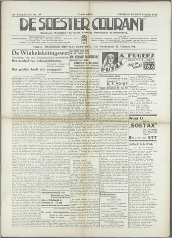 Soester Courant 1934-09-28