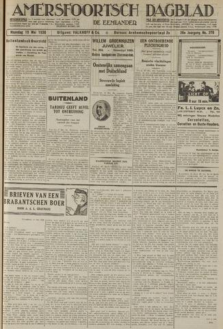 Amersfoortsch Dagblad / De Eemlander 1930-05-19