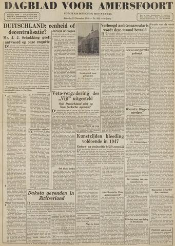 Dagblad voor Amersfoort 1946-11-23
