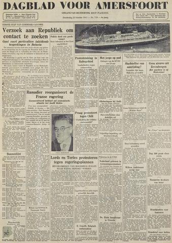 Dagblad voor Amersfoort 1947-10-23