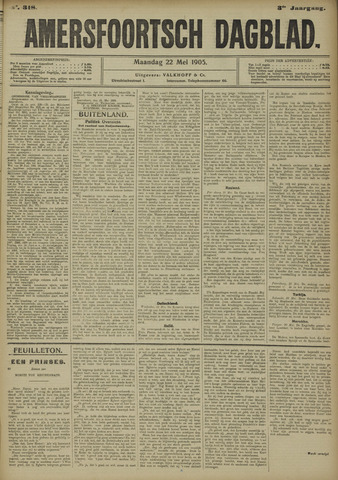 Amersfoortsch Dagblad 1905-05-22