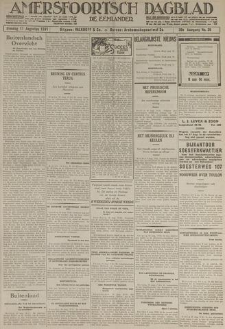 Amersfoortsch Dagblad / De Eemlander 1931-08-11