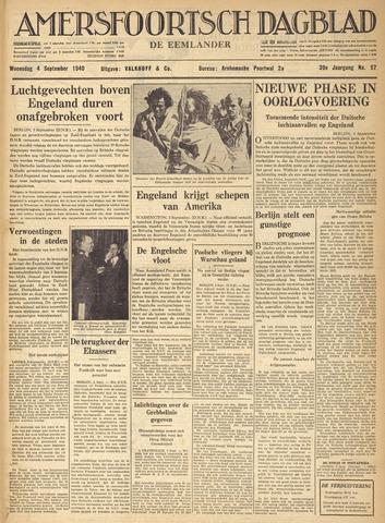 Amersfoortsch Dagblad / De Eemlander 1940-09-04