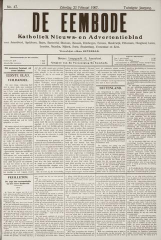 De Eembode 1907-02-23