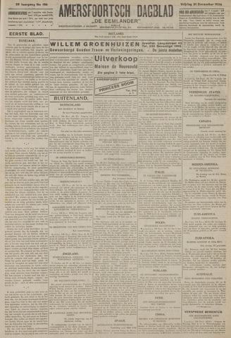 Amersfoortsch Dagblad / De Eemlander 1926-12-31