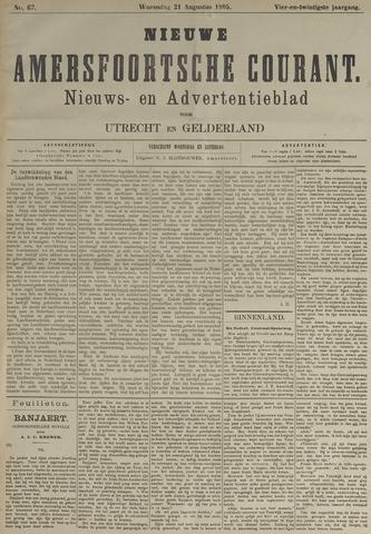 Nieuwe Amersfoortsche Courant 1895-08-21