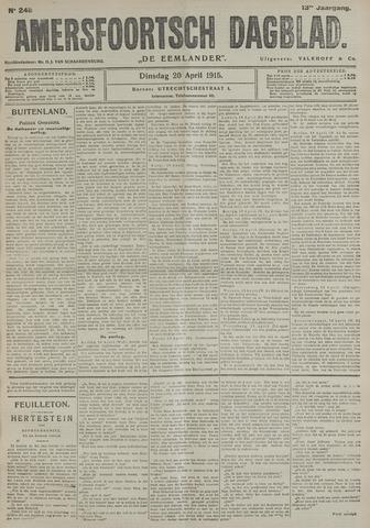 Amersfoortsch Dagblad / De Eemlander 1915-04-20