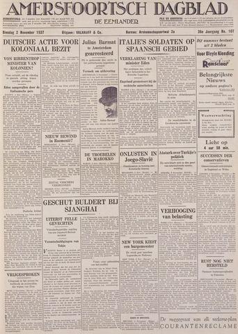 Amersfoortsch Dagblad / De Eemlander 1937-11-02