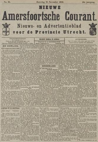 Nieuwe Amersfoortsche Courant 1916-11-25