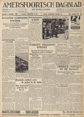 Amersfoortsch Dagblad / De Eemlander 1940-11-02
