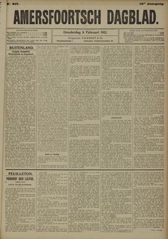 Amersfoortsch Dagblad 1912-02-08