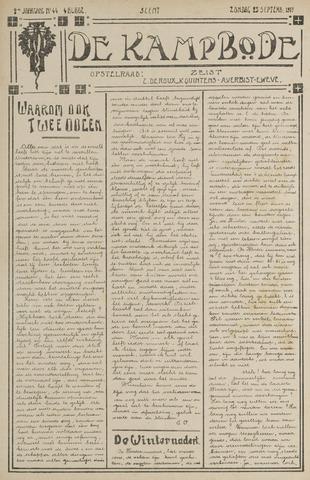 De Kampbode 1917-09-23