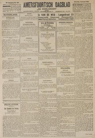 Amersfoortsch Dagblad / De Eemlander 1927-01-04