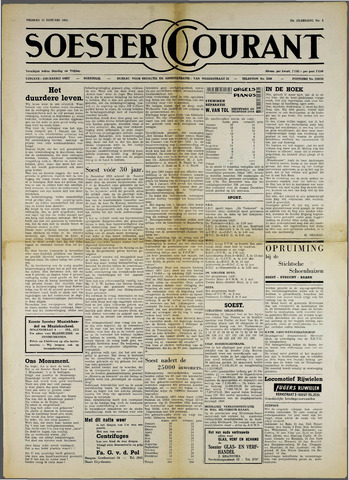 Soester Courant 1954-01-15