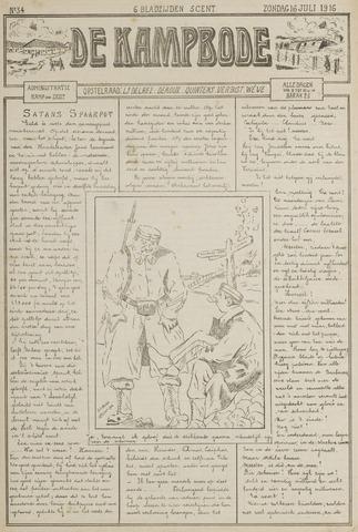 De Kampbode 1916-07-16