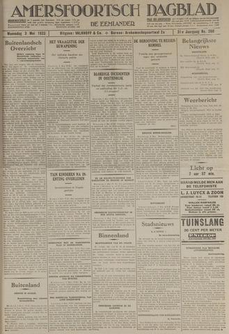 Amersfoortsch Dagblad / De Eemlander 1933-05-03