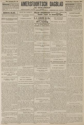 Amersfoortsch Dagblad / De Eemlander 1927-08-04