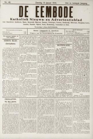 De Eembode 1910-01-15