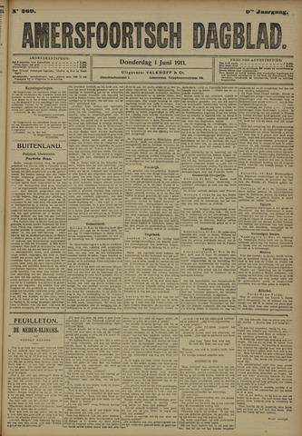 Amersfoortsch Dagblad 1911-06-01