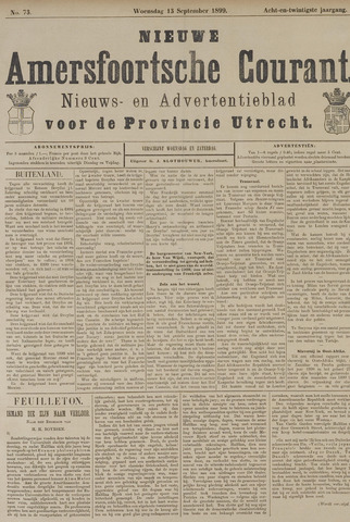 Nieuwe Amersfoortsche Courant 1899-09-13