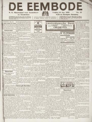 De Eembode 1925-01-16