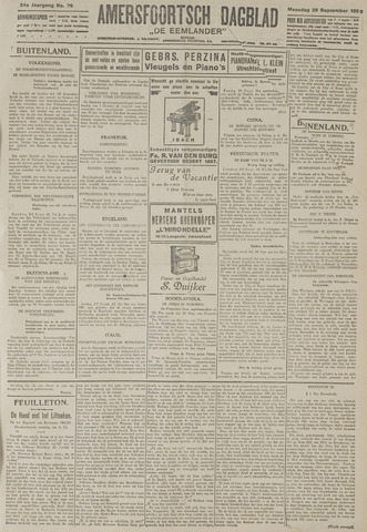 Amersfoortsch Dagblad / De Eemlander 1925-09-28