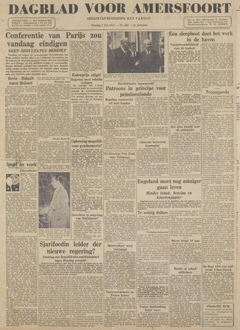Dagblad voor Amersfoort 1947-07-01