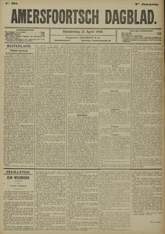 Amersfoortsch Dagblad 1904-04-21