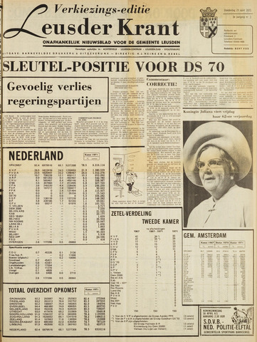 Leusder Krant 1971-04-29