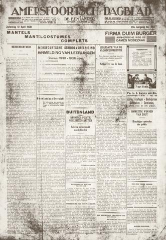 Amersfoortsch Dagblad / De Eemlander 1930-04-12