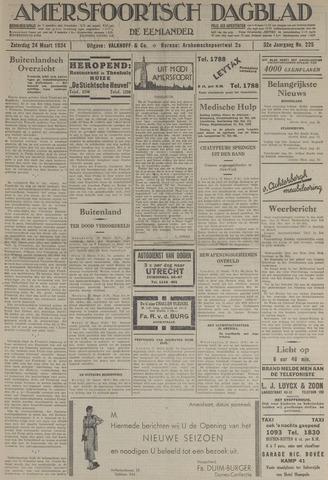 Amersfoortsch Dagblad / De Eemlander 1934-03-24