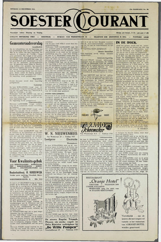 Soester Courant 1951-12-18