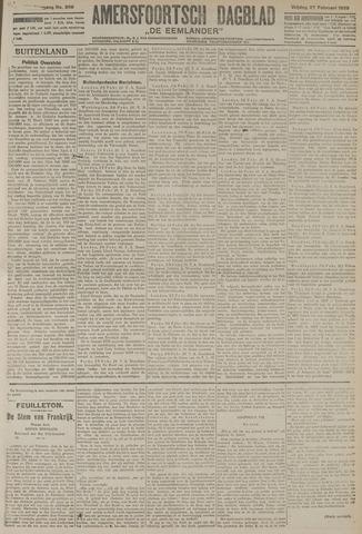 Amersfoortsch Dagblad / De Eemlander 1920-02-27