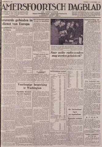 Amersfoortsch Dagblad / De Eemlander 1941-11-18