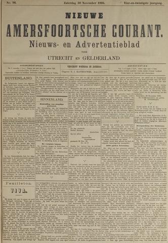 Nieuwe Amersfoortsche Courant 1895-11-30