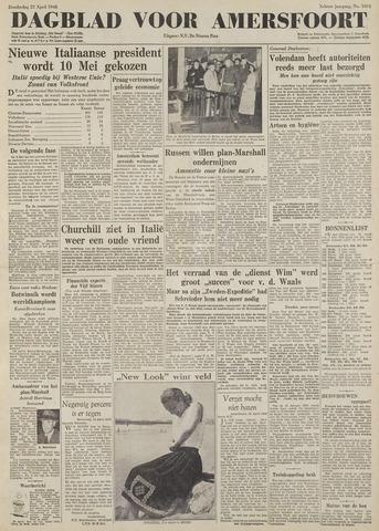 Dagblad voor Amersfoort 1948-04-22