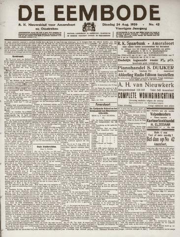 De Eembode 1926-08-24