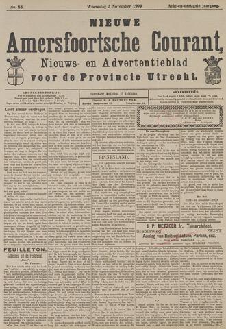 Nieuwe Amersfoortsche Courant 1909-11-03