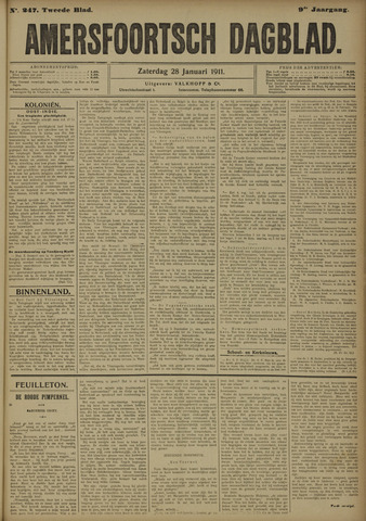 Amersfoortsch Dagblad 1911-01-28
